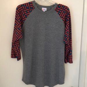 Lularoe Randy shirt, sz L, worn once